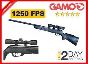 Gamo Varmint 1250 FPS Powerful Pest Hunting Rifle 177 Cal Pellet Big Cat Air Gun