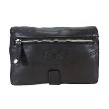 Rowallan Holborn Leather Wrist Bag - Style: 31-9786 Black BNWT