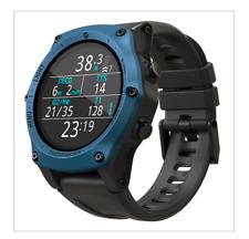 Shearwater Teric Wrist Dive Computer Blue Bezel - Rugged Technical Dive Watch