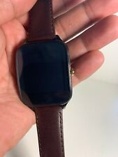 ASUS ZenWatch 2 Smartwatch Black W/Brown Band WI502Q