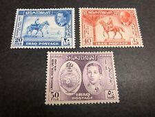 Iraq Scott 130-32 Mint OG CV $16