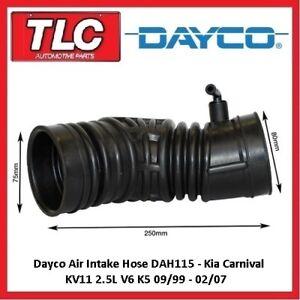 Dayco Air Intake Hose KIA Carnival KV11 10/99 - 02/07 2.5L V6 K5