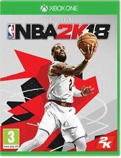 Xbox One Game NBA 2K18 Basketball 2018 New