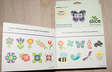 Slice Fabric Design Card Spring Has Sprung Shapes Making Memories Easter Quilt