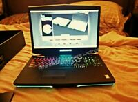MONSTER ALIENWARE 17 i7 3.4GHZ CPU 16GB RAM NVIDIA 3GB GPU 1.5TB HDD+80GB SSD!