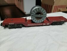 American Flyer Western Electric #936 Depressed Center Reel-Cable Car, Lot #425