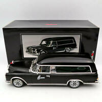 SCHUCO 1/18 Mercedes-Benz 600 HEARSE  FUNERAL CAR 1965 CARRO FUNEBRE black