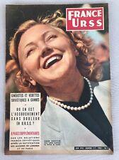 FRANCE-URSS de Juin 1955 Numéro 117