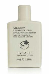 Liz Earle EYEBRIGHT Soothing Eye Lotion 1.6 Oz 50ml TRAVEL SIZE Free Shipping!