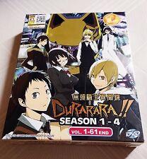 DURARARA!! The Complete Anime TV Series Season 1 - 4 End DVD Box Set Ep.1 - 61