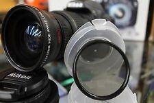 HD WIDE ANGLE MACRO LENS FOR NIKON CAMERA D3300 D3200 D5300 D5200 D5100 - 52MM