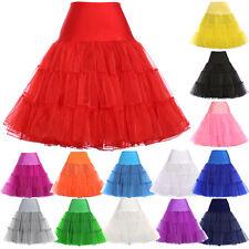 Vintage 50s Tutu Petticoat Fancy Net Crinoline Lady Rockabilly Tulle Underskirt