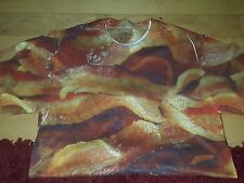 HOT CRISPY BACON All Over Print Sublimation T-shirt Men's M Medium