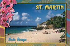 Baie Rouge Beach St. Martin Sint Maarten French West Indies Caribbean - Postcard