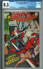 Amazing Spider-Man #101 CGC 8.5 VF+ OWW Marvel Comics 10/71 1971 1st Morbius MCU