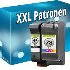 TINTE PATRONEN für HP 45+78 DeskJet 930C 970CXI 1220C 1280 REFILL DRUCKERPATRONE