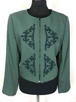 VALENTINO Women's Jacket Wool Woman Wool Jacket Blazer Sz. s - 42