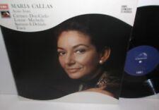 SXLP 30166 Maria Callas Arias From Carmen Don Carlo Louise Macbeth Tosca