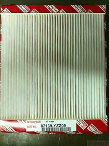 OEM Toyota 87139-YZZ09 Cabin Air Filter FITS MANY TACOMA MODELS *SEE LIST*