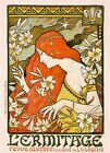 L'Ermatage Vintage French Nouveau France Poster Print Art Advertisement