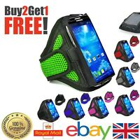 Good Sports Running Jogging Gym Armband Holder Cover For Samsung Various Phones
