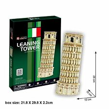 Leaning Tower of Pisa (Italy) 3D Puzzle Education Jigsaw C706h CubicFun
