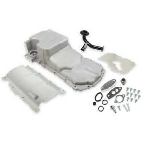 Holley 302-20 Chevy LT Swap Retro-Fit Rear Sump Aluminum Oil Pan & Pickup Tube