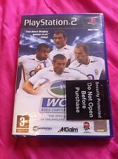World Championship Rugby- 2004 rugby game/new & sealed(Sony PlayStation 2 - PAL)
