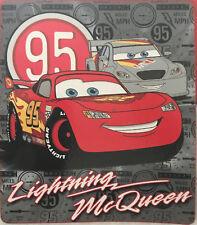 Cars Lightning McQueen Printed Soft Polar Fleece Throw Rug Blanket | Disney