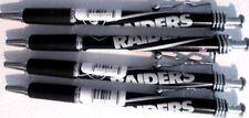 OAKLAND RAIDERS - Ink Pens Set of 4 -FREE U.S. Shipping NEW !