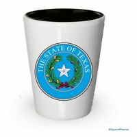 Texas State Seal Shot Glass- Gifts for Texas People