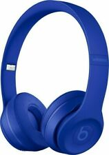 Beats by Dr. Dre Solo3 Wireless Blue Over the Head Headphones