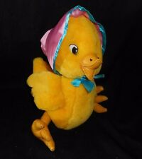 "12"" VINTAGE GOOD STUFF YELLOW BABY DUCK EASTER CHICK STUFFED ANIMAL PLUSH TOY"