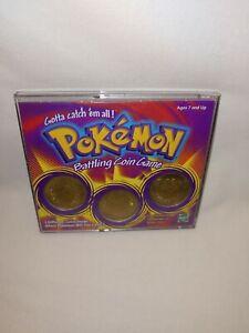vintage 1999 Nintendo POKEMON Battling coin game case pack voltorb muk exeggutor