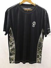 Men S National Guard Shirt Black with Digital Camo Sides