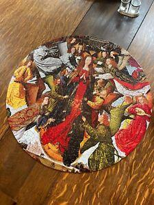 VINTAGE 1966 SPRINGBOK CIRCULAR PUZZLE: MARY, QUEEN OF HEAVEN
