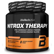 Biotech Nitrox Therapy 340 gr Pre-Workout con Arginina Beta Alanina Citrullina
