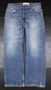 Levi's Men's 505 Straight Fit Blue Jeans 32x30