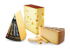 750g Set Appenzell extra spicy Le Gruyere Reserve Emmental cheese Cave-aged