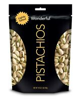 WONDERFUL PISTACHIOS LIGHTLY SALTED PISTACHIO -16oz - PACK OF 2