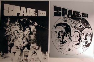 "Space:1999 Vintage Promo 11""x14"" Poster Set of 2- UNUSED!"
