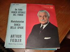 """ARTHUR FIEDLER """" DANZA RITUALE DEL FUOCO - DANZA DELLE SPADE """" ITALY'60"""