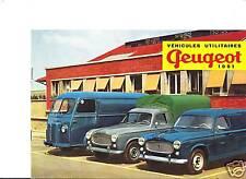 PEUGEOT D4B / 403 B5 / B8 - 1961 / catalogue brochure prospekt dépliant catalog