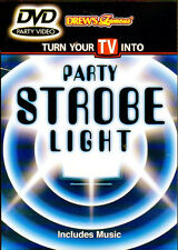 Drew's Famous PARTY STROBE LIGHT: VIRTUAL LIGHT & SOUND SHOW with MUSIC! OOP/NEW