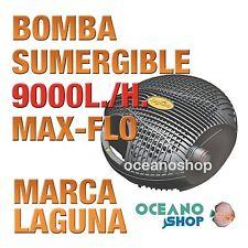 BOMBA MAX FLO SUMERGIBLE AGUA LAGUNA - 9000 l/h estanque peces jardín calidad