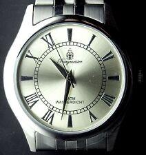 Burgmeister silber-gold Edelstahl Herren Armbanduhr BM401-171 **NEU** watch