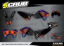 KTM EXC Dekor 125 250 300 450 530 2008-2011 '08 '09 '10 '11 SCRUB Grafik