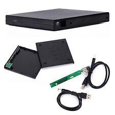 External USB Casing Enclosure for SATA 12.7mm DVDRW BD BD-RE Combo Optical Drive