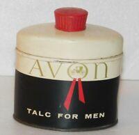 VTG Avon Talc for Men Tin Shave Powder Grooming 2.6 oz