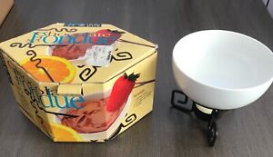 Joie de Vivre Dipping Desire Chocolate Fondue Candle Flame Heated